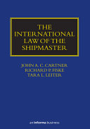 Pdf The International Law of the Shipmaster Telecharger