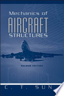 Cover of Mechanics of Aircraft Structures