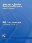 Advances in Tourism Destination Marketing