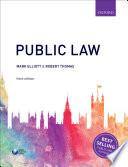 """Public Law"" by Mark Elliott, Robert Thomas"