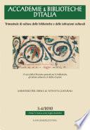 Accademie & Biblioteche d'Italia 3-4/2010