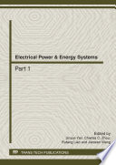 Electrical Power   Energy Systems Book