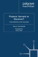 Finance: Servant or Deceiver?