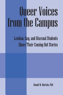 Queer Voices from the Campus