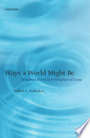 Ways a World Might Be Book