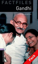 Oxford Bookworms Library: Stage 4: Gandhi Audio CD Pack
