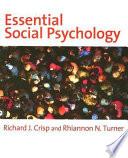 Essential Social Psychology Book PDF