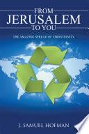 From Jerusalem to You Book PDF
