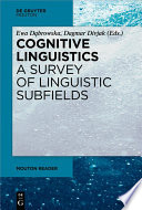 Cognitive Linguistics A Survey Of Linguistic Subfields