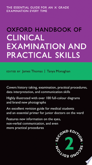 Download Oxford Handbook of Clinical Examination and Practical Skills Free Books - Reading Best Books For Free 2018