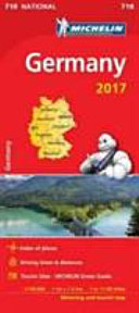Germany 2017 National Map 718