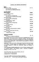 Pdf Journal of Chinese Linguistics