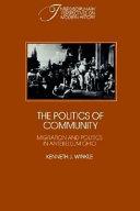 The Politics of Community