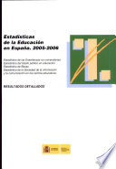 Estadísticas de la educación en España