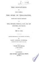 The Dispatches of Field Marshal the Duke of Wellington, K.G.: India, 1794-1805 Pdf/ePub eBook