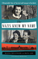 The Nazis Knew My Name Book