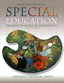 Introduction to Special Education Book PDF