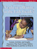 Introducing Nonfiction Writing in the Early Grades