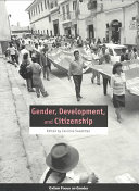 Gender  Development  and Citizenship