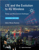 LTE and the Evolution to 4G Wireless