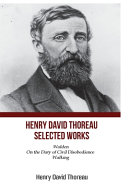 Henry David Thoreau Selected Works
