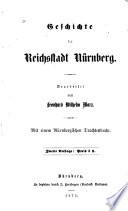 Geschichte der reichstadt Nürnberg