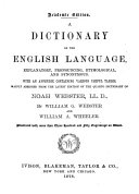 A Dictionary of the English Language ... ebook