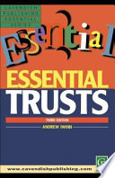 Essential Trusts Law