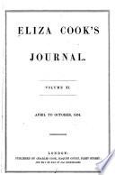Eliza Cook's Journal