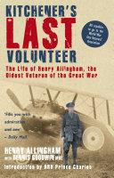 Kitchener's Last Volunteer [Pdf/ePub] eBook