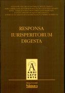 Responsa Iurisperitorum Digesta