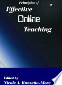 Principles of Effective Online Teaching