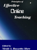 Principles of Effective Online Teaching