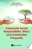 Corporatesocialresponsibility ethicsandsustainableprosperity Book