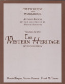 The Western Heritage To 1715