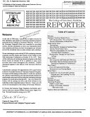 The College Of Veterinary Medicine Reporter