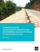 Climate Change Adjustments for Detailed Engineering Design of Roads