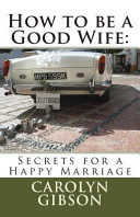 How to Be a Good Wife Book