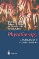 Phytotherapy Pdf