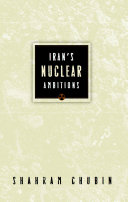 Pdf Iran's Nuclear Ambitions Telecharger