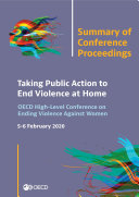 Pdf Taking Public Action to End Violence at Home Summary of Conference Proceedings Telecharger