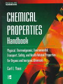 Chemical Properties Handbook