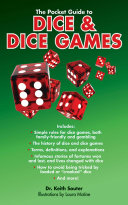 The Pocket Guide to Dice & Dice Games Book