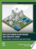 Nuclear Power Plant Design and Analysis Codes