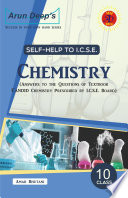 Self Help To Icse Candid Chemistry 10 Solutions Of Evergreen Pub