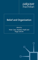 Belief and Organization