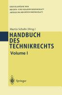 Handbuch des Technikrechts