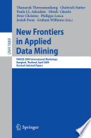 New Frontiers In Applied Data Mining Book PDF
