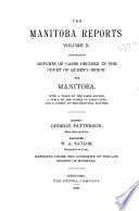 The Manitoba Reports