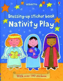 Dressing Up Sticker Book Nativity Play